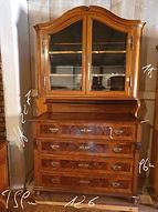 Antik Glas Schrank www.schatzwert.shop