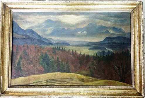 Albert Birkle Gemälde Ölbild Original