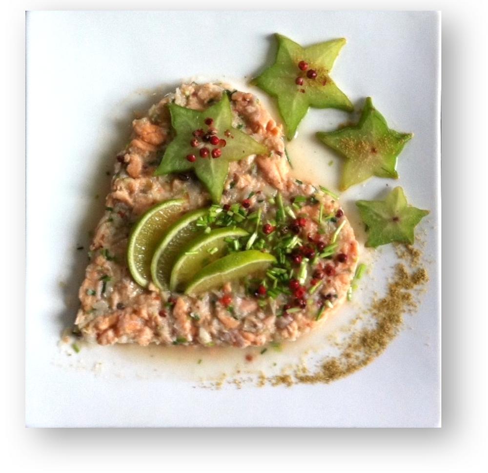 La recette pour un coeur de saumon