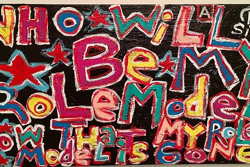 """Role Model"" Acrylic on Canvas"