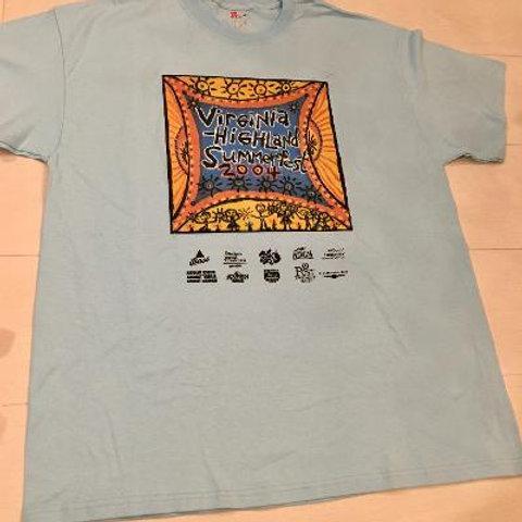 Virginia Highland Summerfest 2004 Tee Shirt LIMITED EDITION