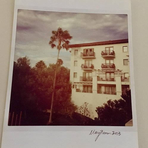 """Orange County Hotel Window""Photo (Unframed)"