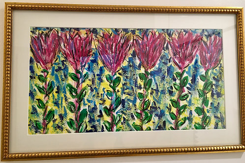 Tulips Framed Painting