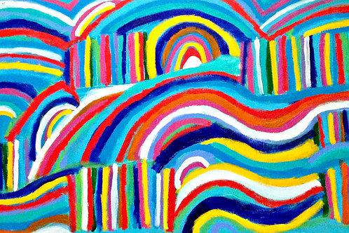 Swirly Rolling Hills