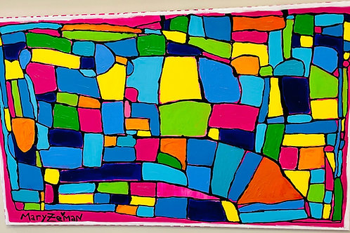 """United States of Color Canvas 48""""X30"""""""