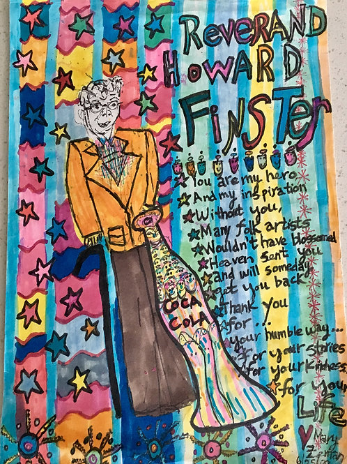 """""""Thank You Howard Finster"""""""