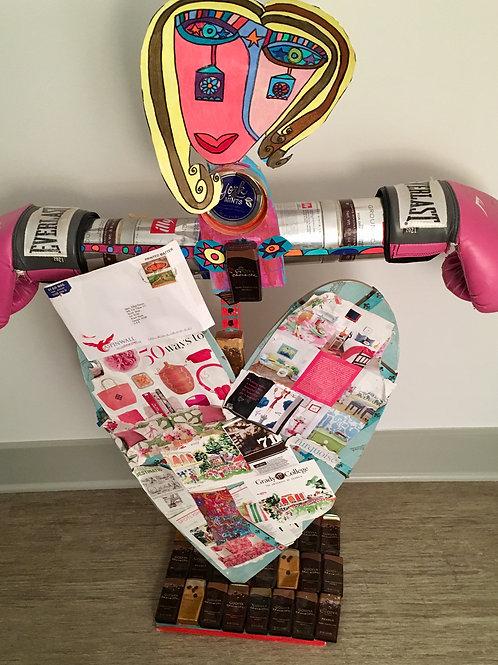 Heart StandUp Sculpture