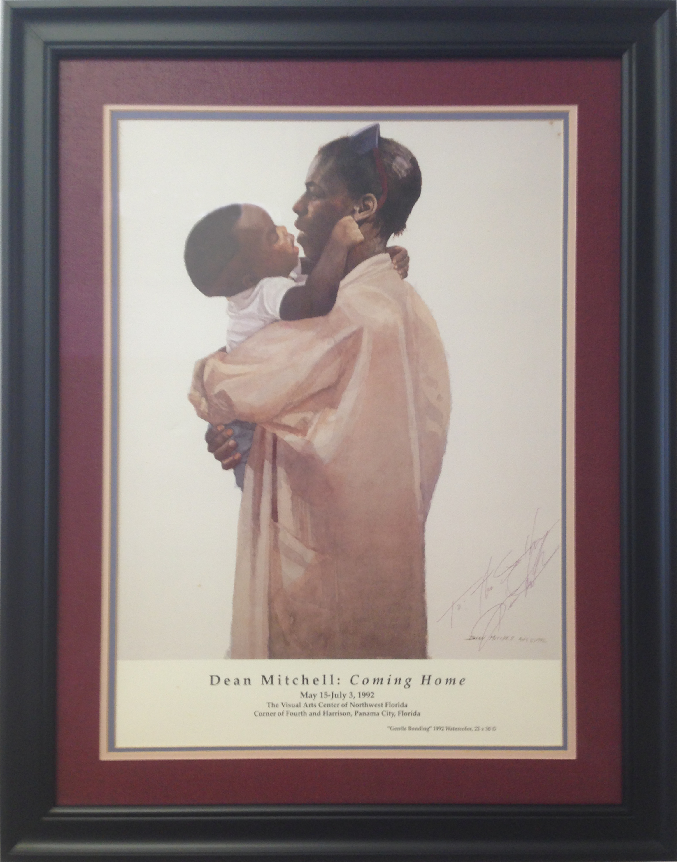 custom framing African American