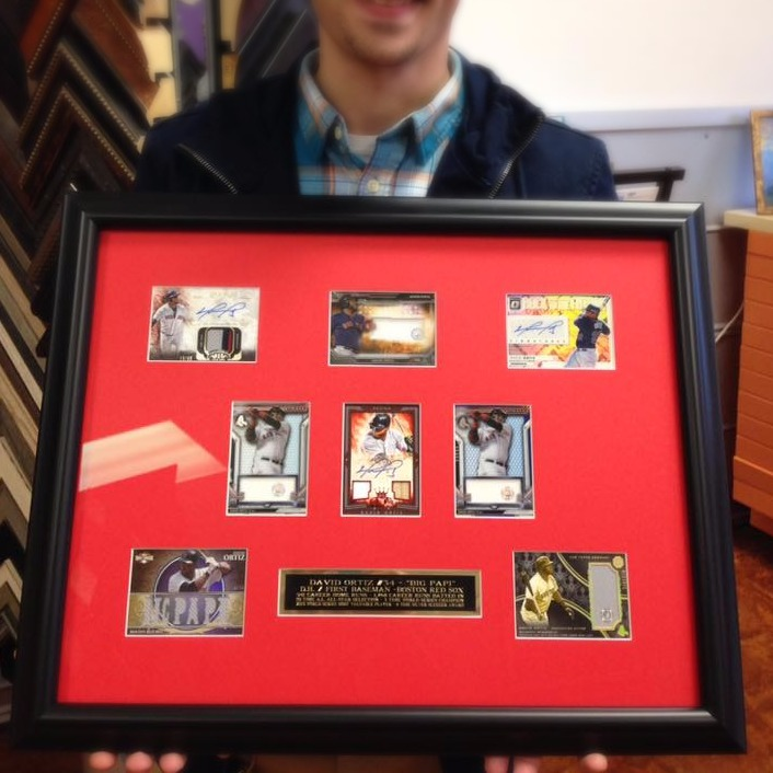 custom framing baseball cards