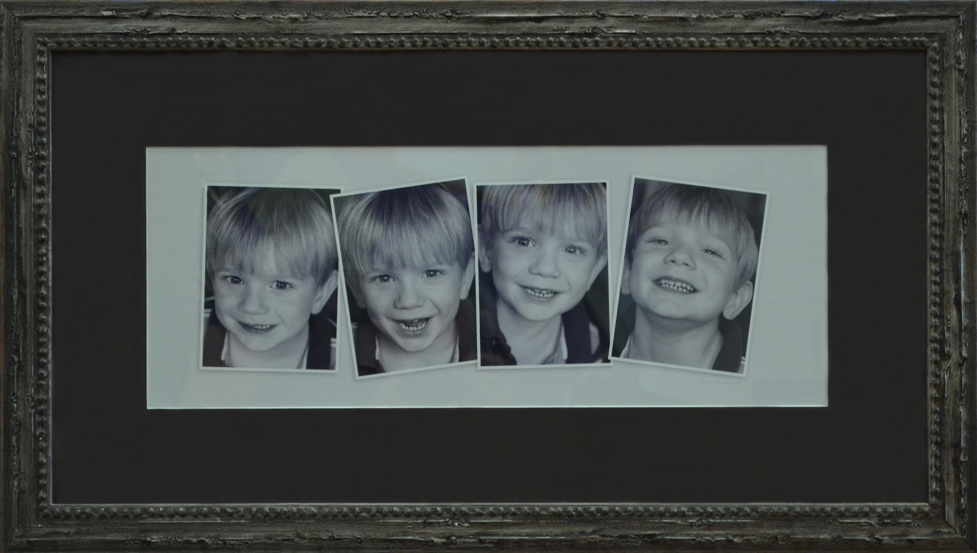 Custom framing Child Portraits photo