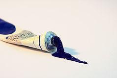 Tube of Blue Paint
