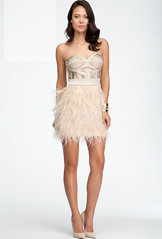 Isis Studded Feather Dress.PNG
