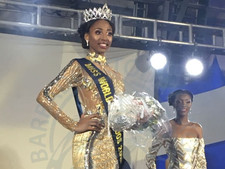 Ashley Lashley is the Newly Crowned Miss Barbados World 2018