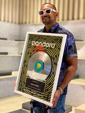 Dancehall Artiste Sean Paul has Joined the Pandora Billionaires Club
