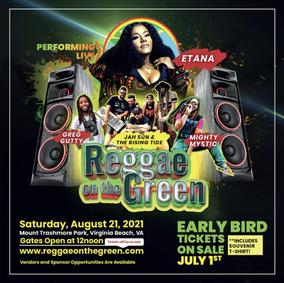 REGGAE ON THE GREEN Festival - Virginia Beach, Virginia