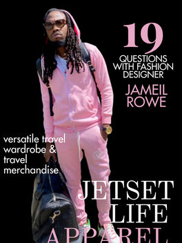 Interview with Fashion Designer Jameil Rowe