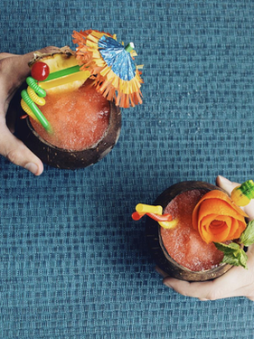 Tropical Summer Cocktails by Cruzan Rum