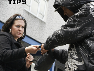 Tips to help prevent mugging.