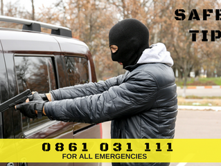 Anti-Hijacking Tips.