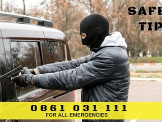 Anti-Hijacking Tips.