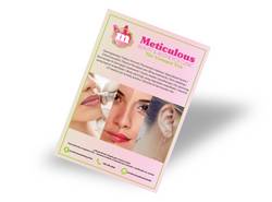 Flyer and Pricelist for Beauty Salon