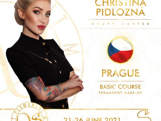 21.- 26.6.2021 Basic Course permanentního makeupu pro začátečníky