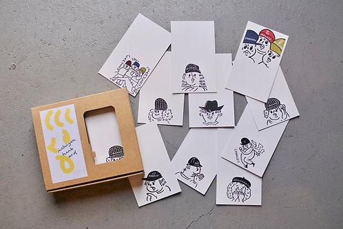 "ichigon hank card ""wanpaku"""