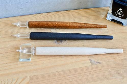 硬質ガラス Wood ガラスペン
