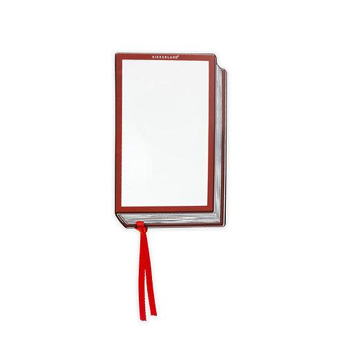 Fresnel Bookmark + Magnifier
