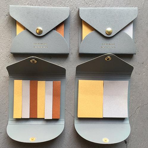 金銀銅のふせん紙