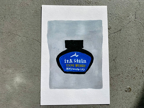 "original post card ""ink"""