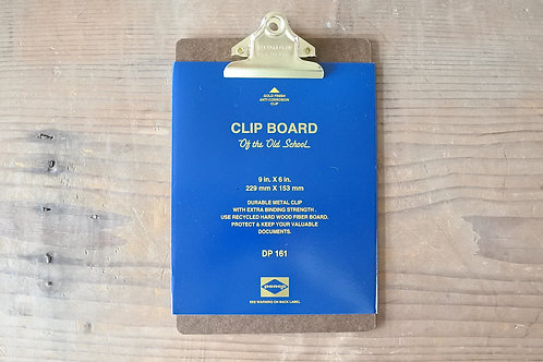Clipboard O/S Gold - A5