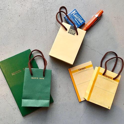 レトロブング ミニ紙袋