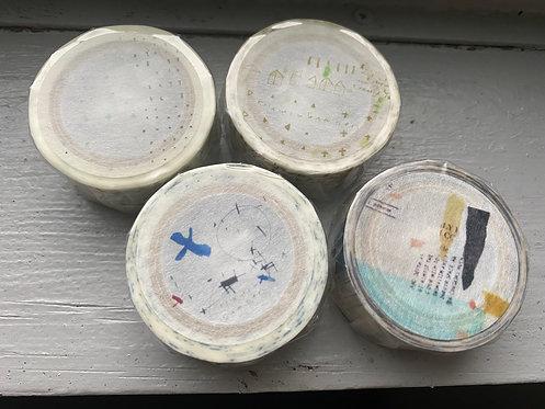 小徑文化 マスキングテープ 「夏米花園」
