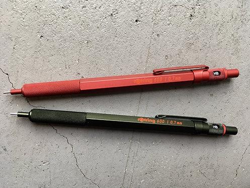 Rotring 600 シャープペンシル0.7mm