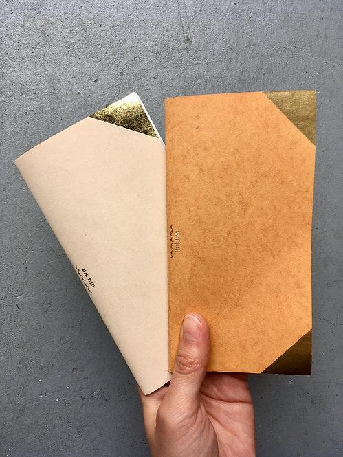 ミシン綴じノート
