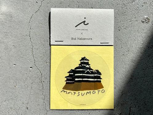 "original Sticker ""matsumoto"""