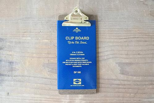 Clipboard O/S Gold - Check