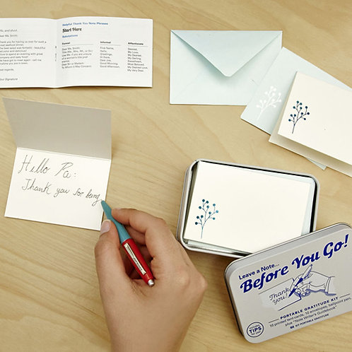 Leave A Note…Before You Go!