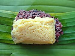 sticky rice egg custard