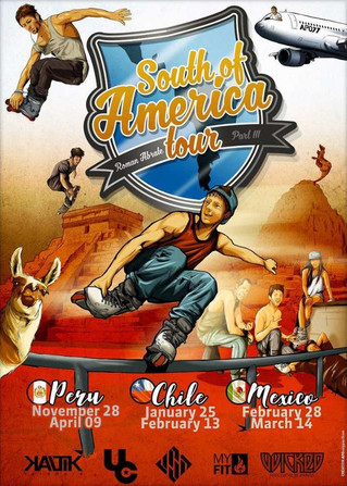 ROMAN ABRATE TOUR                       PERU - CHILE -MEXICO