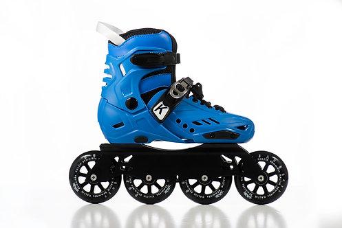 K SKATE BLUE FREESKATE 90mm