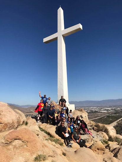 Team Building at Mt. Robidoux, Nov 9 201