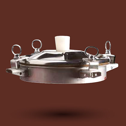 Trappe et couvercle inox