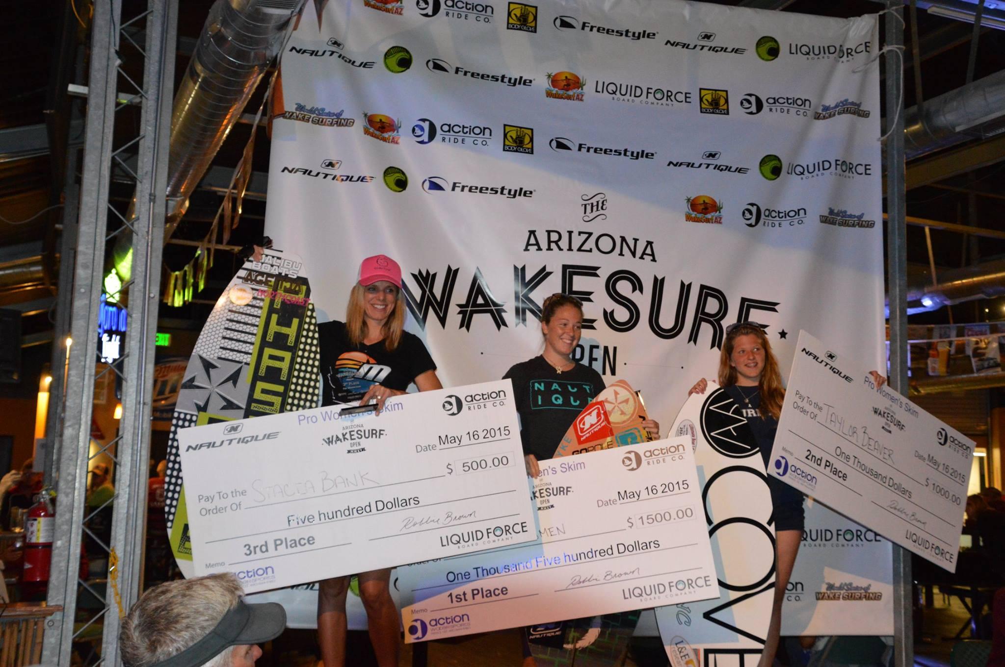 Arizona Wakesurf Open 2015