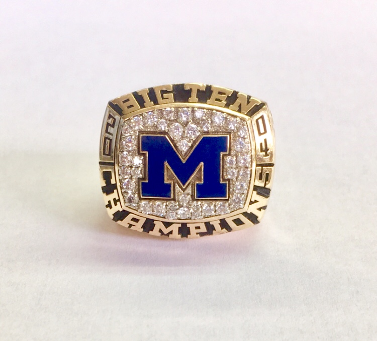 MICHIGAN BIG 10 RING
