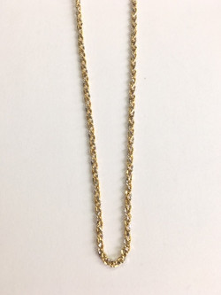 18k Two-Toned Gold _Braid_ link