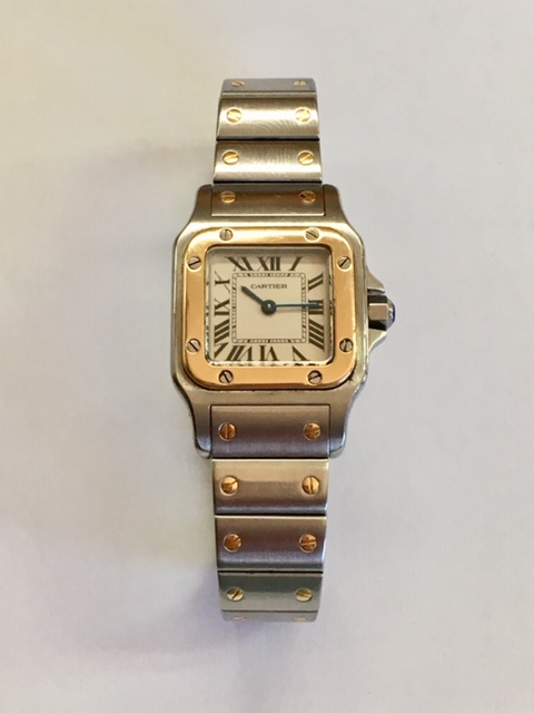 LADIES CARTIER SANTOS