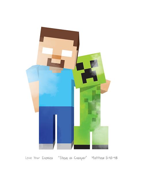 Steve vs. Creeper