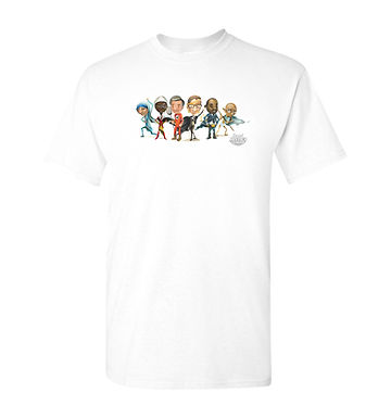 Social Justice League Group tee